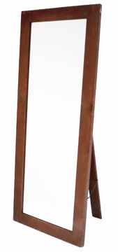 Picture of Wardrobe Mirror - Full Length Varnish