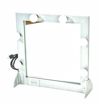 Picture of Makeup Mirror - Silver Metal
