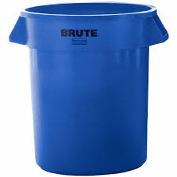Picture of Trash Can - Recycle Blue