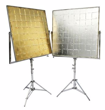 Picture of Reflector - 4'X 4' Silver Or Gold