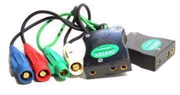 Picture of Camlock - 4 Locking To 2 - 100 Amp Bates (Snake Bite)