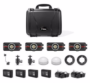 Picture of LED - Fiilex P100 4 Light Kit