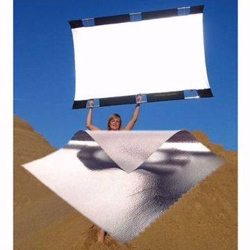 Picture of California SunBounce - 4' X 6' Fabric Only (Silver)