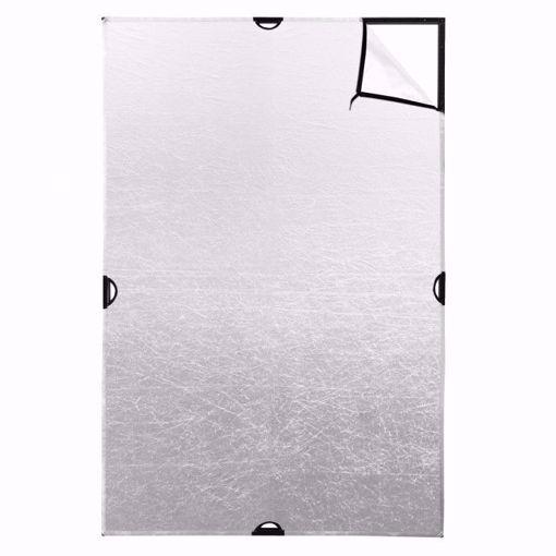 Picture of Scrim Jim 4' X 6' - Silver Fabric  (Cine)
