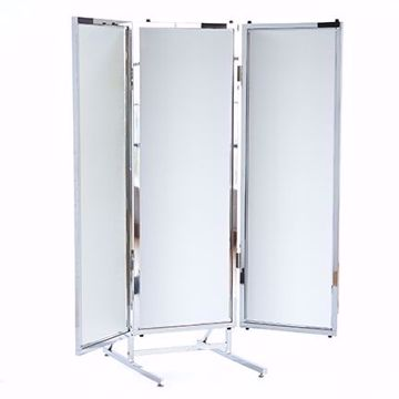 Picture of Make-Up Table - Deluxe Metal 2 Way Mirror