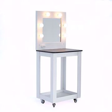 Picture of Makeup Table - White Wood