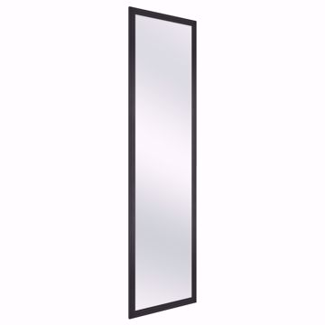 Picture of Wardrobe Mirror - Full Length Black Metal